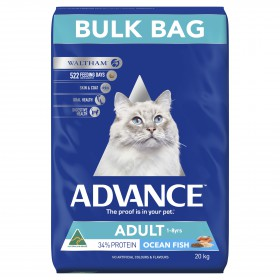 Advance Cat Adult Ocean Fish with Rice 20kg