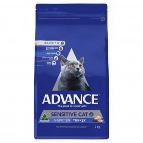 Advance Cat Adult Sensitive Turkey 2kg