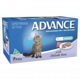 Advance Cat Adult Delicate Tuna 85g x 7