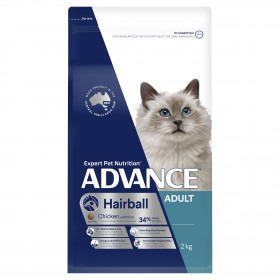 Advance Cat Adult Hairball Chicken with Rice 2kg