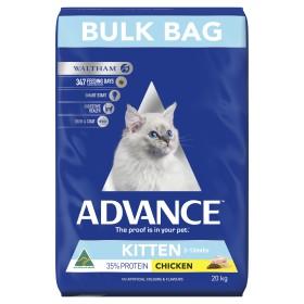 Advance Cat Kitten Plus Growth Chicken Breeder Bag 20kg