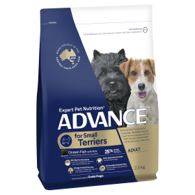 Advance Dog Adult Small Terriers Ocean Fish with Rice 2.5kg
