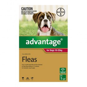 Advantage Dog Large 10-25kg Red - 1pk