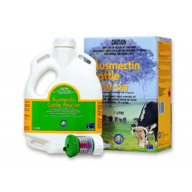AUSMECTIN POUR ON CATTLE 1L