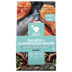 Billy & Margot Dog Puppy Salmon and Superfoods 1.8kg
