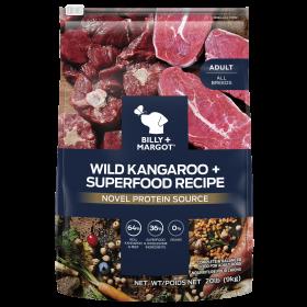 Billy & Margot Dog Adult Wild Kangaroo and Superfoods Recipe 9kg