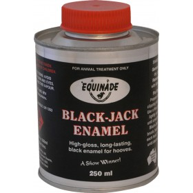 Equinade Black Jack Enamel and Brush 250ml
