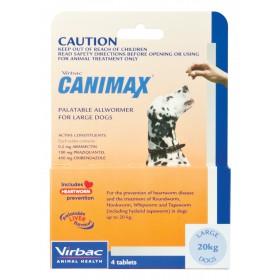 Canimax Dog Large 20kg Orange - 4pk