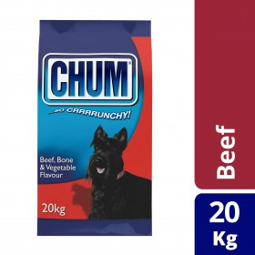 Chum Dog Adult Beef Bone and Veg 20kg