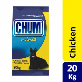 Chum Dog Adult Chicken Beef Veg 20kg