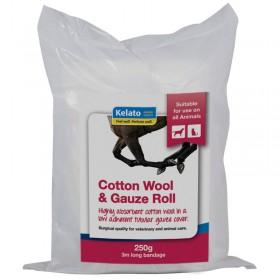 Kelato Cotton Wool & Gauze 250g