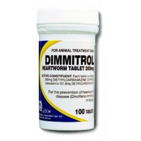 DIMMITROL TAB 200MG 100s