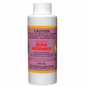 Elliot's Bird Wormer 125ml