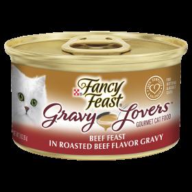 Fancy Feast Cat Adult Gravy Lovers Beef 85g x 24