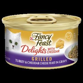 Fancy Feast Cat Adult Delights Cheddar Turkey 85g x 24