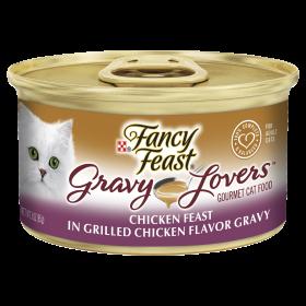 Fancy Feast Cat Adult Gravy Lovers Chicken 85g x 24