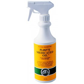 FLINTS MEDICATED OIL 500ML PUMP
