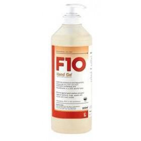 F10 Hand Gel Pump Pack 500ml