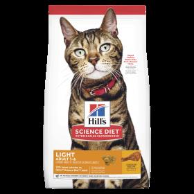 Hill's Science Diet Cat Adult Light 7.26kg