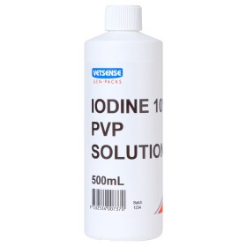 Iodine 10% PVP Sol 500ml (Gen-Pack)