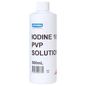 Vetsense Gen-Pack Iodine 10% PVP Sol 500ml