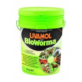 Livamol With Bioworma 15kg Pail