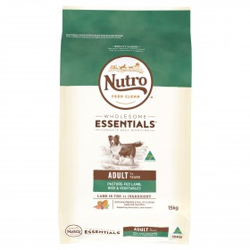 Nutro Wholesome Essentials Dog Adult Pasture-Raised Lamb, Rice and Vegetables 15kg