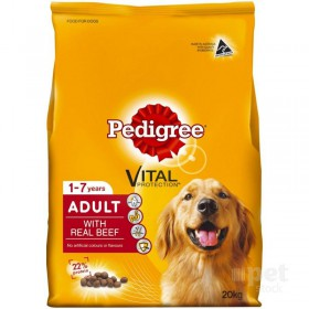Pedigree Dog Adult Meaty Bites Beef 20kg