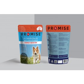 Promise Freeze Dried Organic Beef Liver Sprinkles 50g