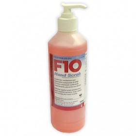 F10 Hand Scrub Pump Pack 500ml