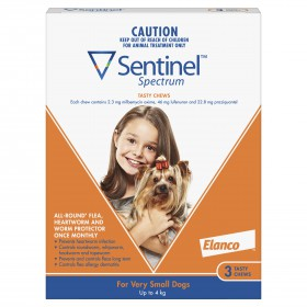 SENTINEL SPECT. T~C UP TO 4KG BROWN 3s