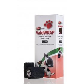 Valuwrap Paw Pack 7.5cmx4.5M Black 10's