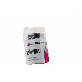 VALUWRAP COHESIVE BANDAGE 10CM BLACK